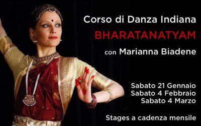 CORSO di DANZA INDIANA BHARATANATAYAM