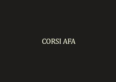 Corsi AFA
