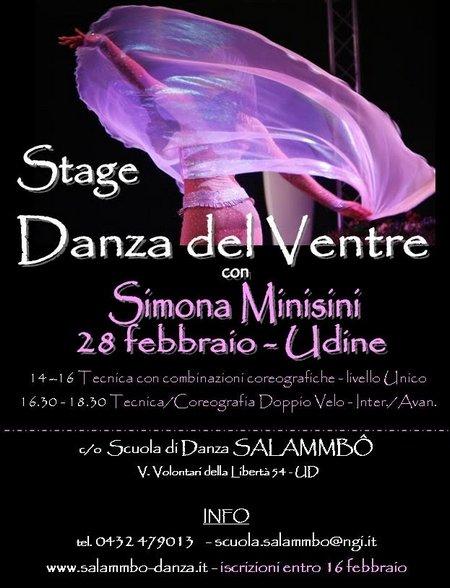 Stage Danza del Ventre
